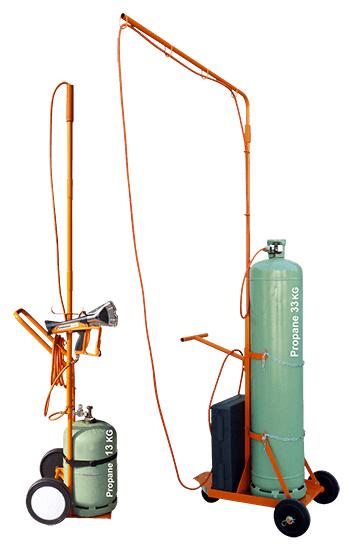 Gasflaschenwagen