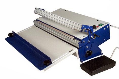 Halbautomatisches Tisch-Folienschweißgerät TM